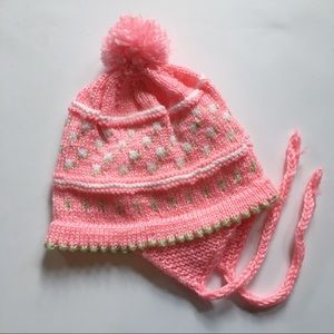 Other - Vintage baby girl knit hat💞